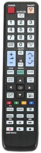 ALLIMITY AA59-00445A Fernbedienung Ersetzt für Samsung TV UE46D6530 UE46D6530WK UE46D6540 UE46D6570 UE46D6750 UE46D6750WK UE55D6505 UE55D6510 UE55D6530 UE55D6530WK UE55D6540 UE55D6570 UE55D6750