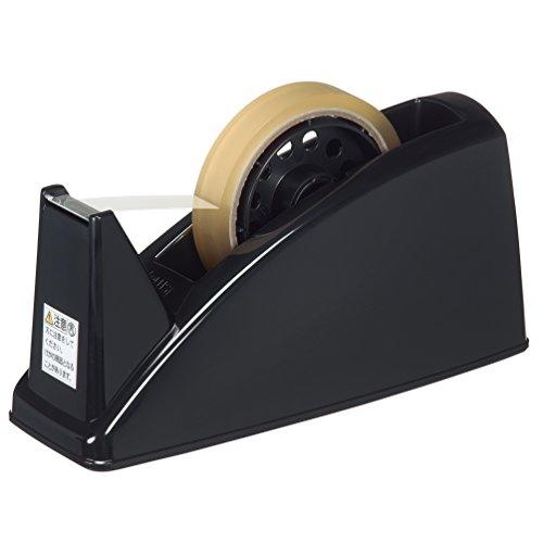 プラス テープカッター TC-101Eブラック 37-297