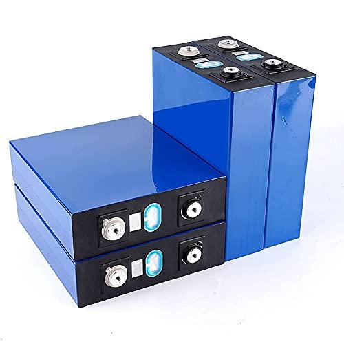 3.2v 202ah Lifepo4 Battery Pack, Inversor De BateríA Litio Hierro De Hierro De Fosfato EnergíA Solar CéLulas Electroauto, Ciclistas BateríAs De Ciclismo para/RV/Barco/Bricolaje (4pcs)