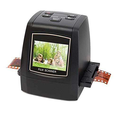 SODIAL 22Mp Soporte 35Mm 110 Diapositiva Negativa 126Kpk Super 8 Film Silde Scanner Digital Converter EU Plug