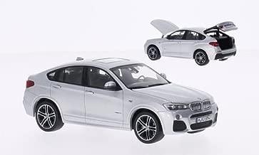 BMW X4, silver, 2015, Model Car, Ready-made, I-Herpa 1:43