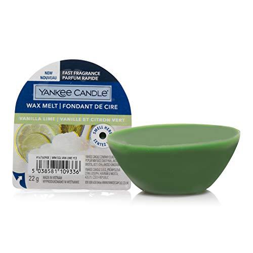 Yankee Candle cialde di cera profumate Wax Melt | Calce alla vaniglia | Durata della fragranza: fino a 8 ore | 1 pezzo