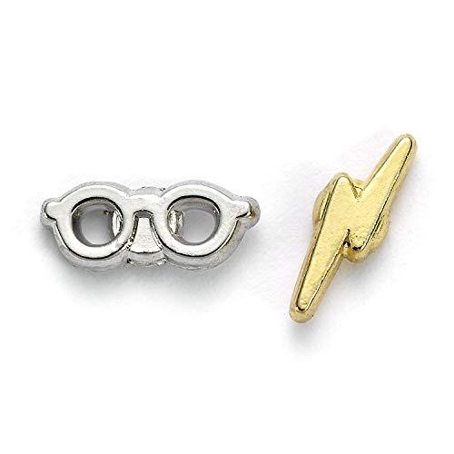 Pendientes oficiales de Harry Potter con perno y gafas