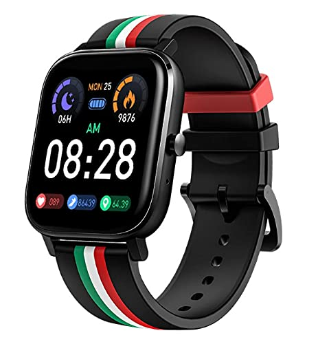Smart Watch Hombres Mujeres Bluetooth Call Impermeable Pantalla Táctil Completa Smartwatch