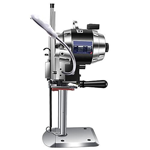 Afilador automático de 1000W para cortar tela, Máquina cortadora de tela industrial de 15 pulgadas, Máquina cortadora de tela con LED, CE / FCC / CCC / PSE