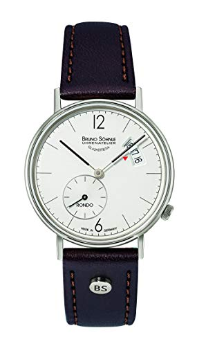 Bruno Söhnle Damen Analog Quarz Uhr mit Echtes Leder Armband 17-13192-261