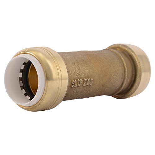 SharkBite PVC Fitting UIP3016A 3/4 inch X 3/4 inch, PVC Connector for PVC Pipe Repair