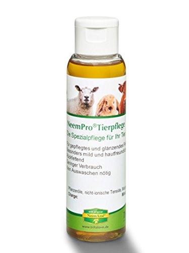 NeemPro Tierpflege 100 ml für gepflegtes Fell Haustier Pferd Shampoo mit Margosaextrakt Neem ohne Auswaschen