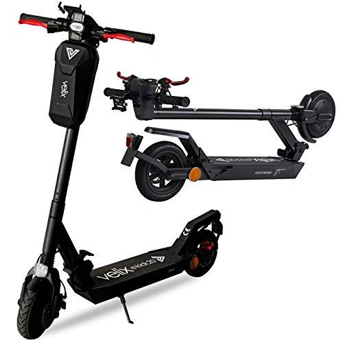 velix E-Kick - Patinete eléctrico con bolsa para manillar (20 km/h, 350 W, con permiso de circulación)