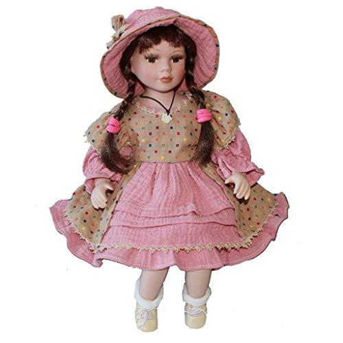 Baoblaze Oramenti Giocattolo Vittoriana Bambola da Collezione Abbellimenti da Regalo Gift - #2