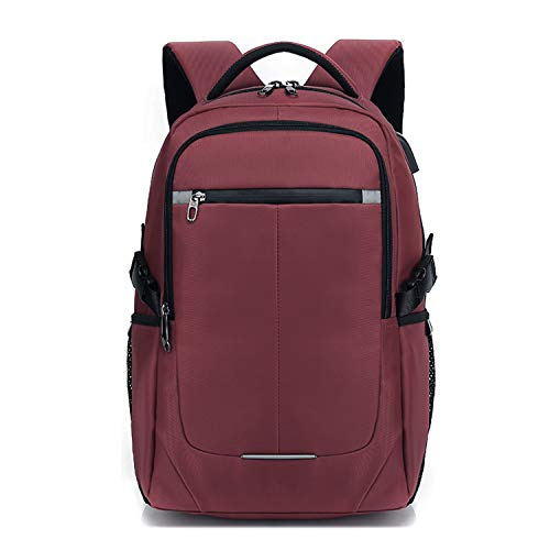 FANDARE 15.6 Pulgadas Laptop Mochila Impermeable Bolso de Escuela con USB