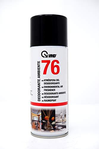 ViD® VMD 76 Lufterfrischungsspray Raumspray 400ml | neutralisiert Gerüche | Deodorant mit lang anhaltendem Duft für Autos, Büros oder Haushalt | gegen unangenehme Gerüche | Haushaltsspray | Duftsspray