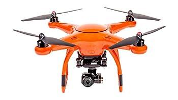 VOOCO X-Star Premium Drone with 4K Camera 1.2-Mile HD Live View & Hard Case  Orange