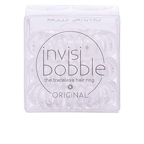 Invisibobble Original Haargummis, crystal clear, 1er Pack, (1x 3 Stück)