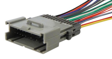 Absolute USA H348/2002 Radio Wiring Harness for Saturn All Models 2000-2003 Power 4 Speaker (70-2002,GWH-348)