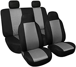 FH Group FB102GRAY114 Gray 3D Air Mesh Auto Seat Cover (Full Set)