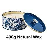Duftkerze Soja Kerze Groß 400g 3 Dochte, Baumwolle Duft Natürliches Aromatherapie Mama - 7