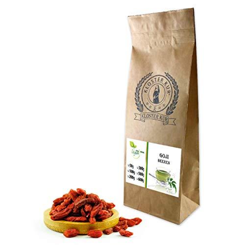 VITAIDEAL VEGAN® Goji Beeren getrocknet (Bocksdornfrucht, Chinesische Wolfsbeere, Níngxià gouqi) 500g, rein natürlich ohne Zusatzstoffe.