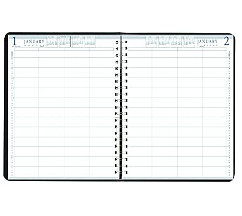 House of Doolittle 2022 Daily Group Planner, 4-Person, Black Soft Cover, 8.5 x 11 Inches, January – December (HOD28202-22)