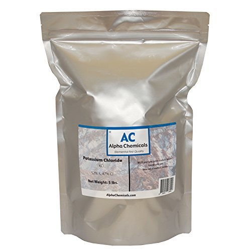 Alpha Chemicals Potassium Chloride - KCl - 5 Pounds
