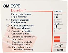 3M 38234 ESPE Durelon Carboxylate Luting Cement, Triple Pack