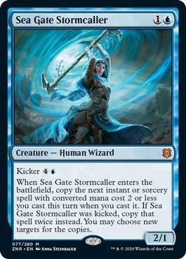 Magic: the Gathering - Sea Gate Stormcaller - Evocatempeste di Portale Marino - Zendikar Rising