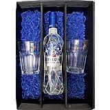 Brugal Geschenkset - Brugal Especial Extra Dry Rum 0,7l 700ml (40% Vol) + 2x Rum-Gläser