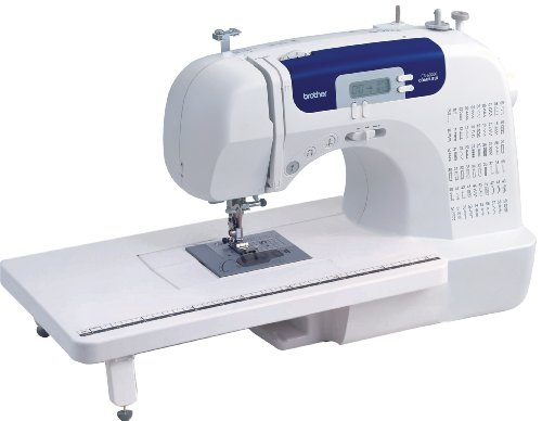 Brother Sewing and Quilting Machine, CS6000i, 60 Built-in Stitches, 2.0' LCD Display, Wide Table, 9...