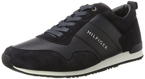 Tommy Hilfiger Herren M2285AXWELL 11C1 Sneaker, Blau (Midnight), 43 EU