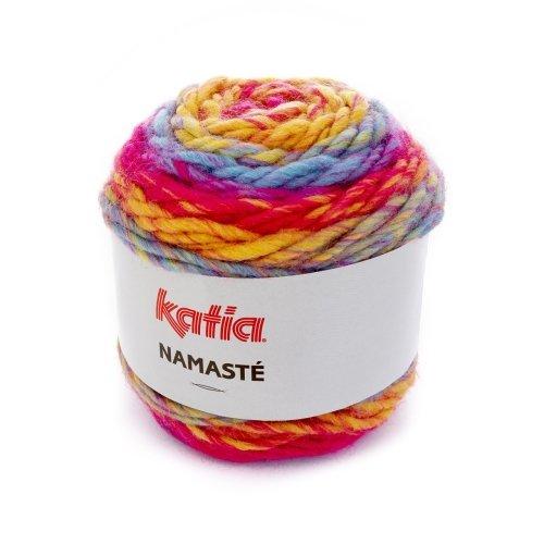 Katia Namasté - Farbe: 305, 100g Bobbel Acryl mit langem Farbverlauf