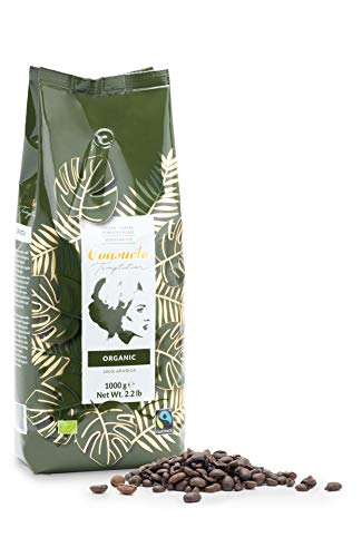 Coffee in Whole Beans Consuelo Organic Fairtrade - 1 kg