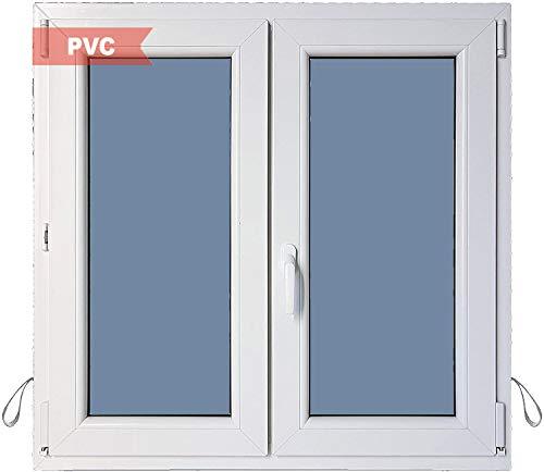 Ventana PVC Practicable Oscilobatiente 2 hojas 1000 ancho x 1000 alto