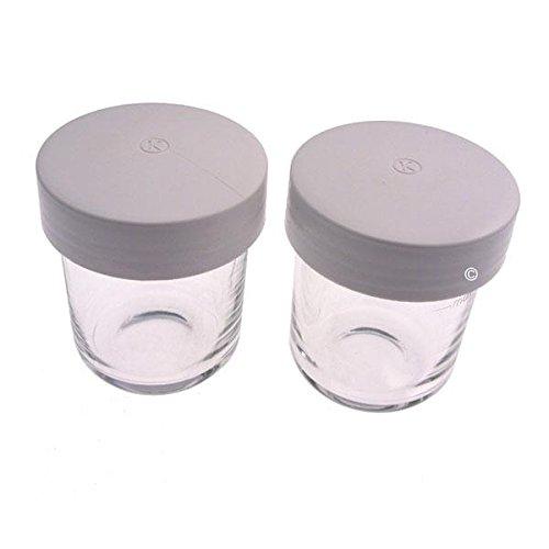 AT320 – 2 Mini Behälter mit Deckel des AT320 Küchenmaschine Kenwood KM020 Major