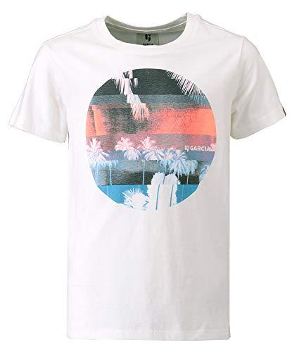 Garcia Kids Jungen T-Shirt , Weiß (Off White 53) , 140-146