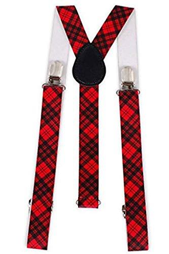 Adam & eesa Nouveau unisexe Motif bretelles réglable clip sur élastique taille unique adulte - - Taille_unique