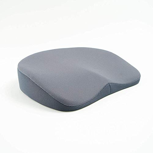 GoodMonday Zero Gravity Upright Posture Meditation Seat Cushion, Ergonomic and Comfortable Cushion to Relieve Stress, Shoulder & Back Pain, Comfortable Upright Posture Corrector, Great for Car, Airplane Flights, Wheelchair, Computer & Office Chair - Size A