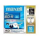 マクセル BD‐R 録画用 ブルーレイディスク 1‐4倍速 BR25VFWPB.10S 10枚