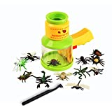 BOHS Bug Catcher and Viewer with Insects Figures - STEM Biology Science Toys for Children