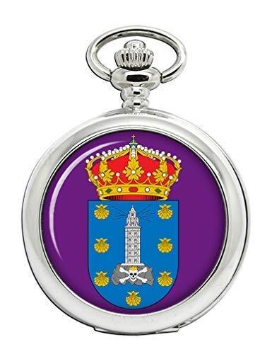 A Coruna (España) Full Hunter reloj de bolsillo