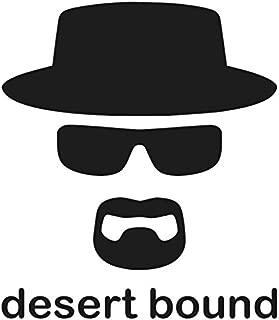 Heisenberg Desert Bound Decal- {BLACK} 5