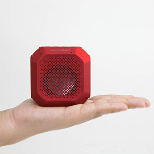 Corseca Zest DMS2360 Wireless Bluetooth Portable Speaker with Mic (Red)
