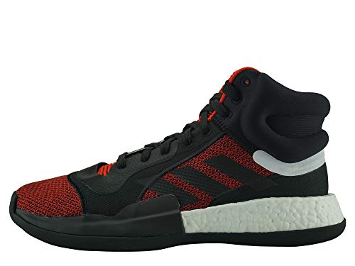 adidas Performance Marquee Boost Basketballschuhe Herren rot/schwarz, 44 EU - 9.5 UK - 10 US