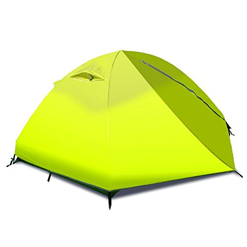 Miao extérieur 2 personnes Double couche anti-pluie Tente de camping