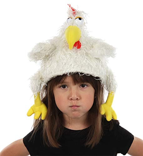 elope Chicken Clucker Costume Hat and Puppet