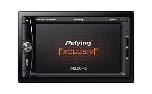 Peiying exclusieve autoradio PY9908.2 2 DIN (6, 2 inch) USB/SD/AUX/ISO-stekker, afstandsbediening