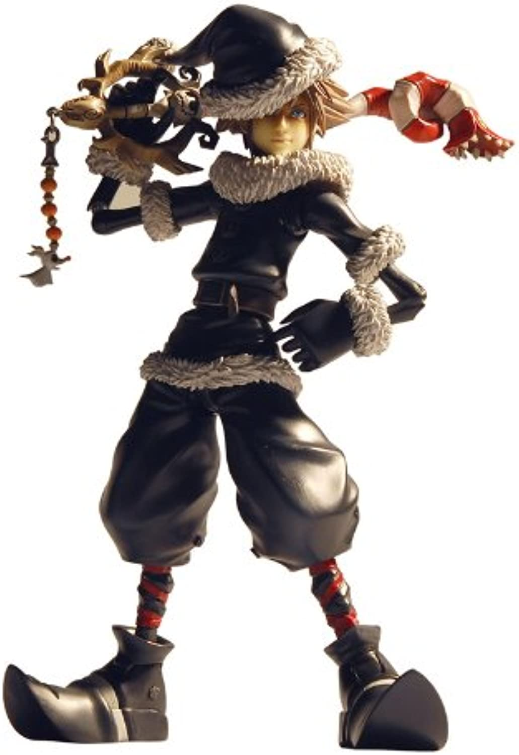 Kingdom Hearts II Play Arts Sora Christmas Town Ver. (Nonscale painted action figure) (japan import)