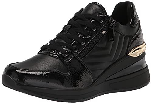 ALDO Women's Adwiwia Sneaker, Black/Black, 7