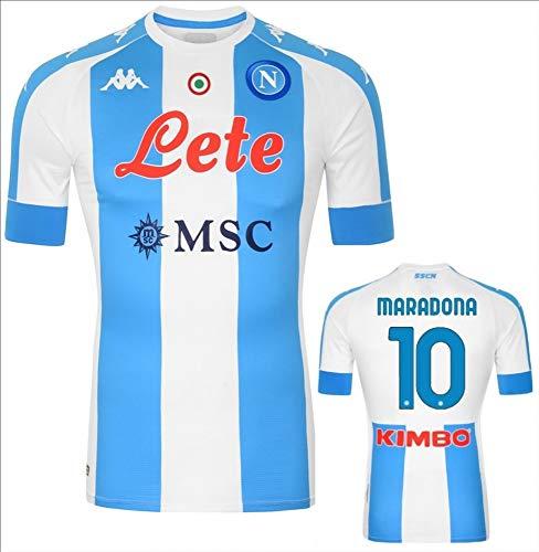 official product Napoli Kappa - Camiseta de memoria Maradona 2020/2021, azul, número...