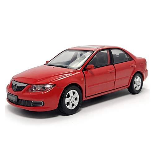 1:32 para Mazda 6 Sedán Modelo De Coche De Simulación De Aleación De Metal Fundido A Presión Modelo De Coche Juguetes De Regalo para Niños Luz Juguetes Coches