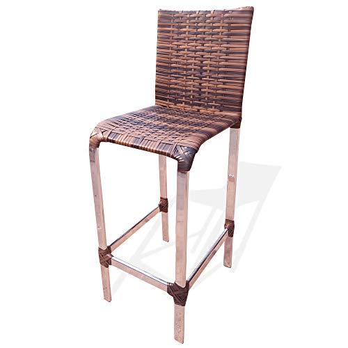 Banqueta Angra 75cm Cor Argila | Cadeira Banco Bar Balcão Bancada | Realize Decor
